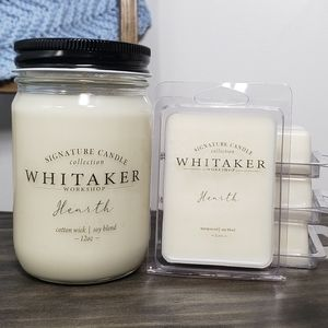 Hearth Candle and Wax Melt